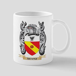 Antony Family Crest - Antony Coat of Arms Mugs