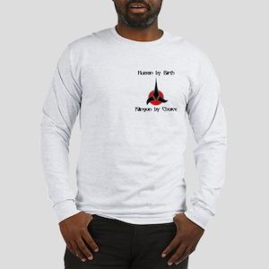 Klingon by Choice Long Sleeve T-Shirt