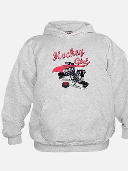 Cute Girls hockey Hoodie