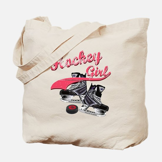 Funny Womens hockey Tote Bag