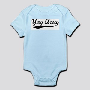 Vintage Yay Area Infant Creeper