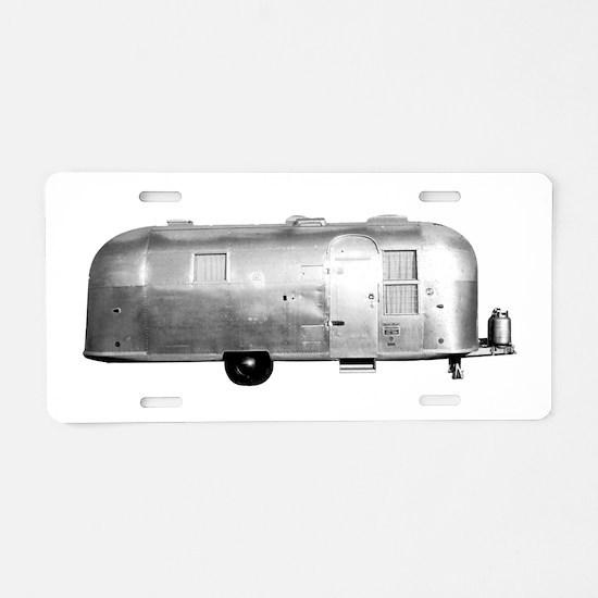 Airstream Trailer Aluminum License Plate