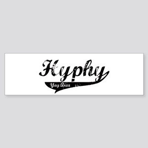 Hyphy Yay Area Bumper Sticker
