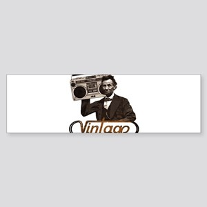 BOOMBOX ABE LINCOLN Sticker (Bumper)