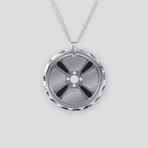 The Reel Thing! Necklace Circle Charm
