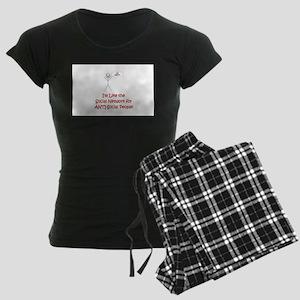 Antisocial Network Women's Dark Pajamas