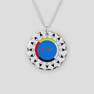 Abenaki Necklace Circle Charm