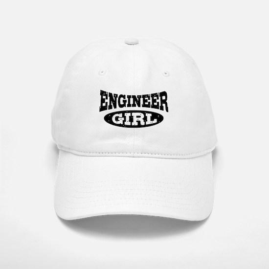 Engineer Girl Baseball Baseball Cap