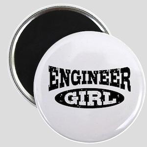 Engineer Girl Magnet