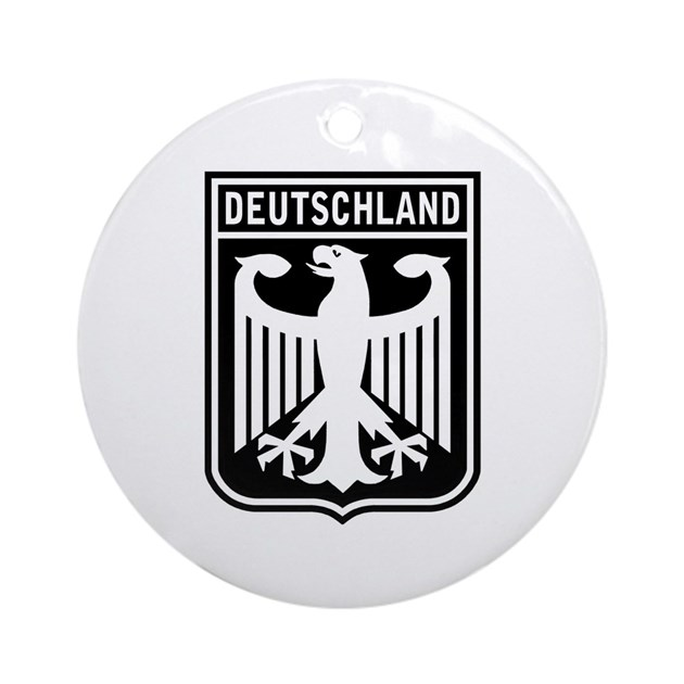 Deutschland Eagle Ornament (Round) by totaletees