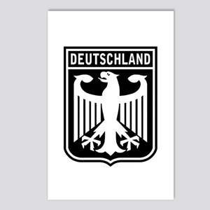 Deutschland Eagle Postcards (Package of 8)