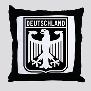 Deutschland Eagle Throw Pillow