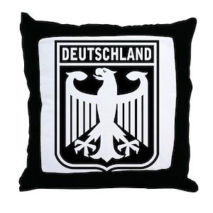 German Coat Of Arms Pillows - CafePress