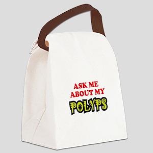 Polyps 02 Canvas Lunch Bag