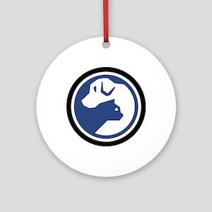 SPCA of TN Logo Ornament (Round)