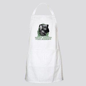 Abe Lincoln - Drops Beats Not Bombs! Apron