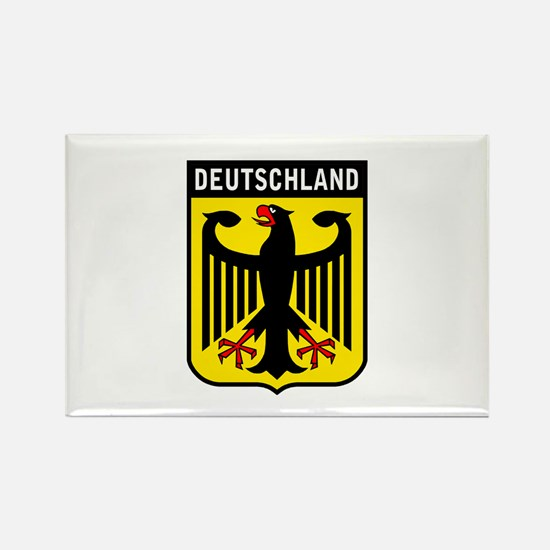Deutschland Eagle Rectangle Magnet