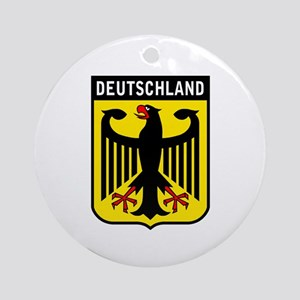 Deutschland Eagle Ornament (Round)