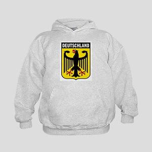Deutschland Eagle Kids Hoodie