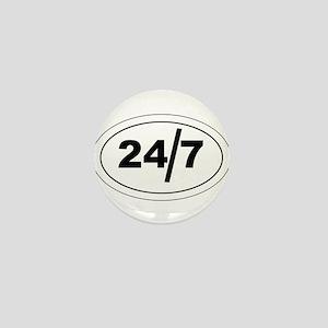 24/7 Mini Button