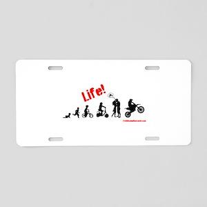 Life (guys) Aluminum License Plate