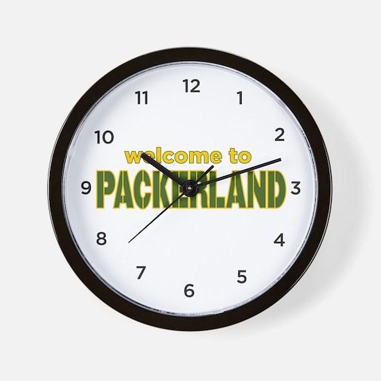 Packerland Wall Clock