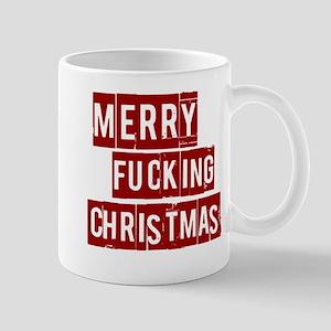 Merry Effin Christmas Mug