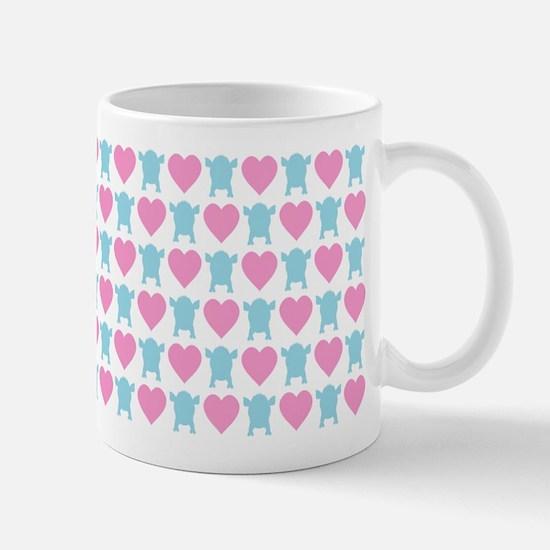 I Love Micro Pigs Mug