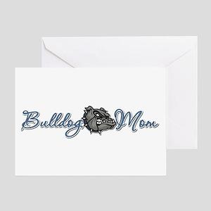 Bulldog MOM Greeting Card