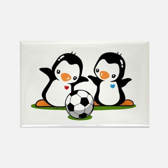 I Like Soccer (2) Rectangle Magnet