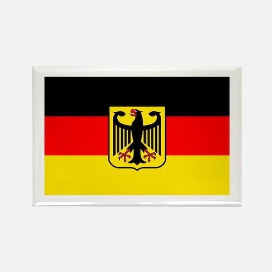Deutschland German Flag Rectangle Magnet