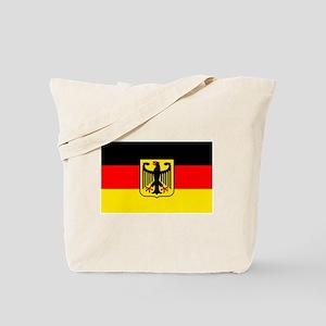 Deutschland German Flag Tote Bag