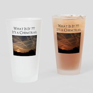 No Geoengineering Please Drinking Glass