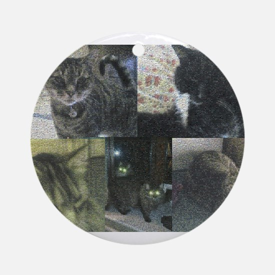 Cats Ornament (Round)