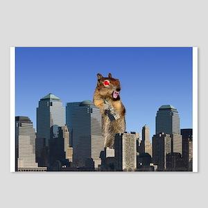 Killer Squirrel Postcards (Package of 8)