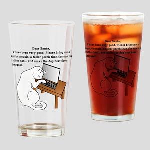 Dear Santa... Drinking Glass
