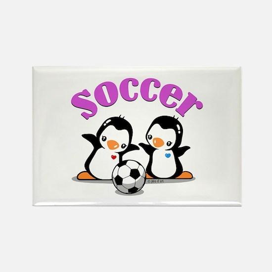 I Like Soccer (3) Rectangle Magnet