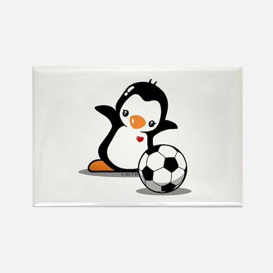 I Like Soccer Rectangle Magnet