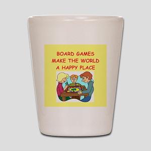 board games Shot Glass