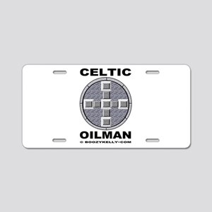 Celtic Oilman Laptop Skin,Oil Field Gift,Oil