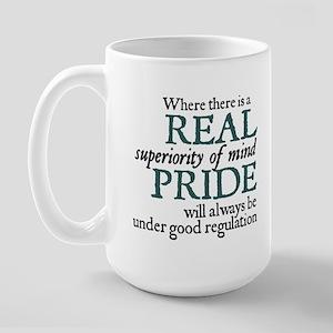 Jane Austen Pride Large Mug