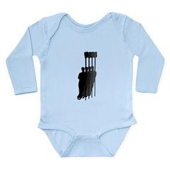 Four Rowers Long Sleeve Infant Bodysuit