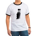 Four Rowers Ringer T