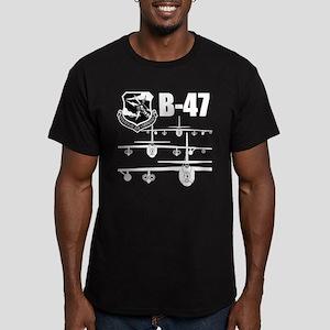 SAC B-47 Men's Fitted T-Shirt (dark)