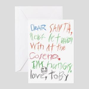 Dear Santa 2 Greeting Card