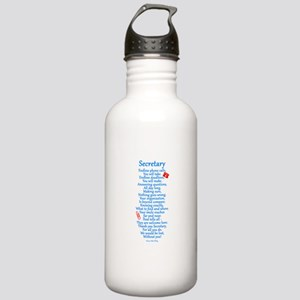 Secretary Thank You Stainless Water Bottle 1.0L