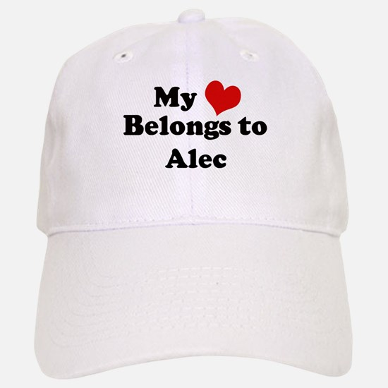 My Heart: Alec Baseball Baseball Cap