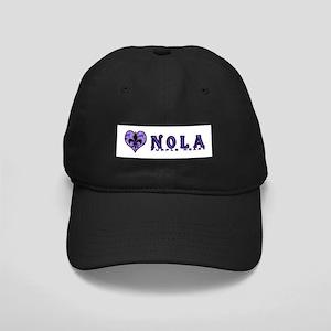 NOLA Purple Heart Black Cap
