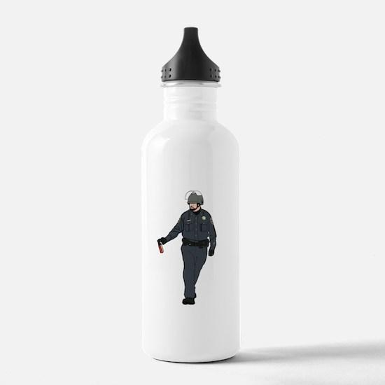 Casual Pepper Spray Cop Water Bottle