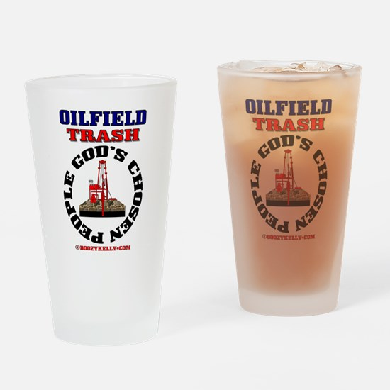 Oil field Trash God's Chosen Drinking Glass